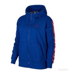 Nike Plus Size Zip up hoodie
